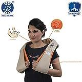 JSB HF71 Neck Massager for Cervical Shoulder Pain Relief (Beige)