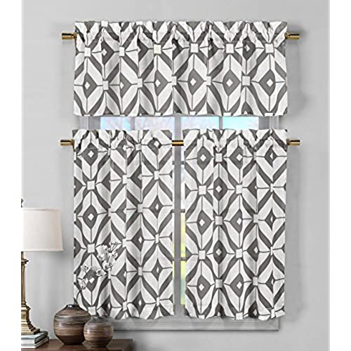 contemporary kitchen curtains and valances modern kitchen curtains 8313