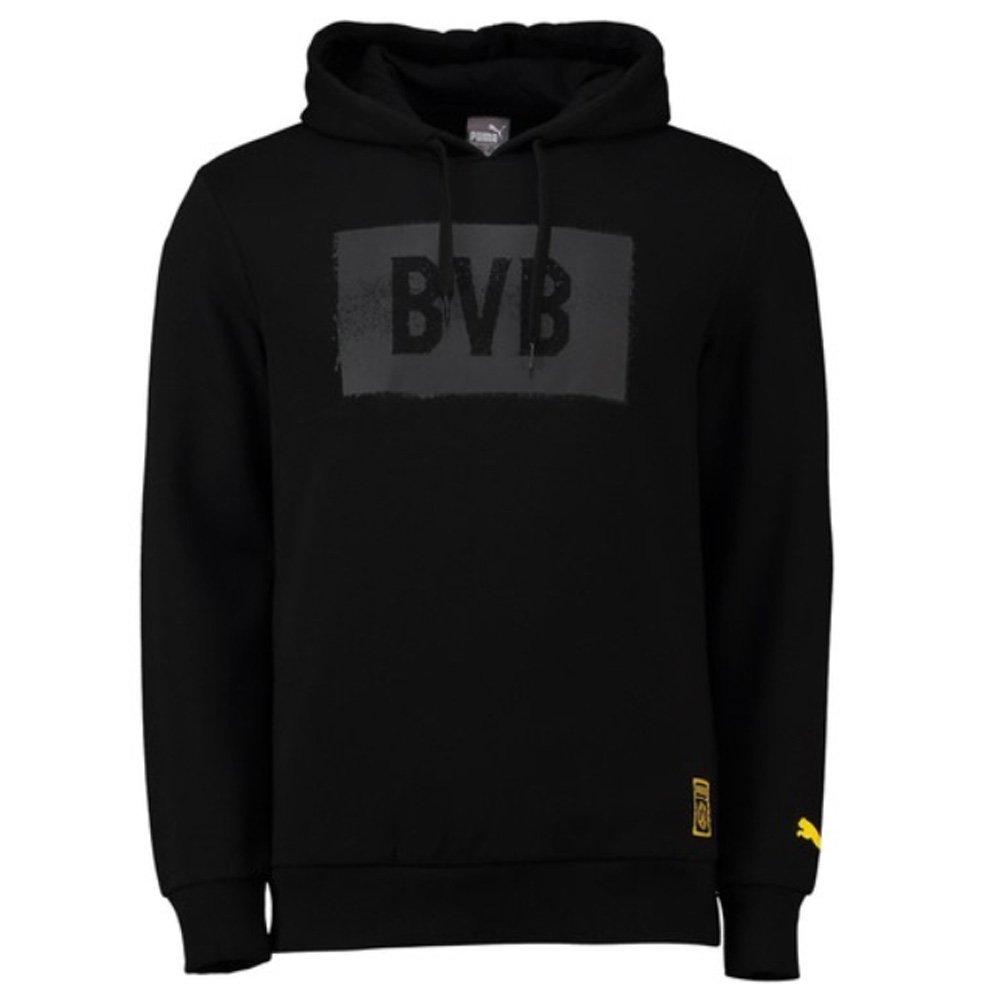 Puma Borussia Dortmund Stencil Kapuzenpullover Herren