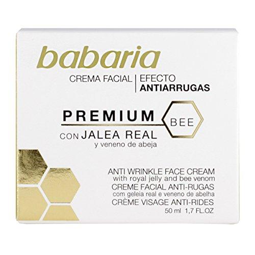 Babaria Veneno De Abeja - Crema antiarrugas, 50 ml