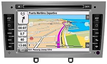 """2DIN 7"""" PEUGEOT 308 Y 408: NAVEGADOR GPS, MANOS LIBRES BLUETOOTH, CD"""