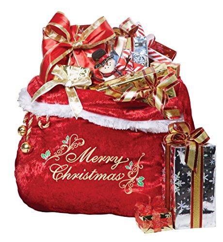 Santa Claus Suits And Accessories (California Costumes Men's Santa Bag, Red, One)