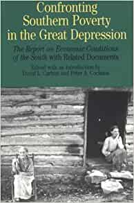 confronting southern poverty in the great depression essay Confronting southern poverty in the great depression : the report on economic conditions of the south with related documents.