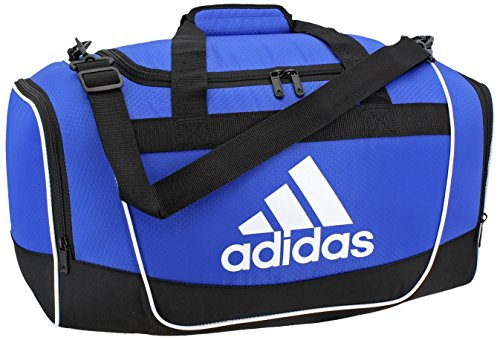 adidas Defender II Duffel Bag (Small), Bold Blue, 11.75 x 20.5 x 11-Inch