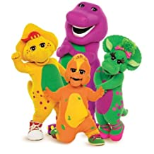 Barney the Purple Dinosaur & Friends ~ Edible Image Cake, Cupcake Topper!!!