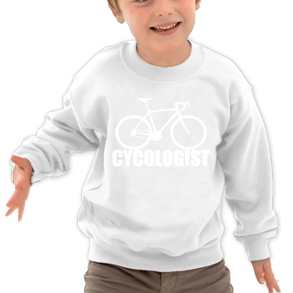 Babyruning Cycologist Kids Cotton Fleeces Athletic Long Sleeve Tops