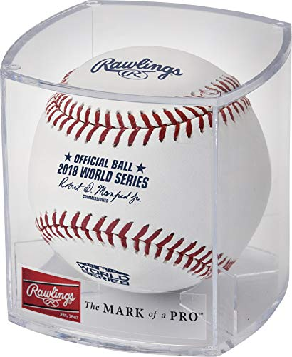 (Rawlings 2018 World Series Official MLB Game Baseball Cubed)