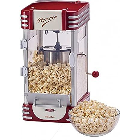 Ariete Popcorn Popper XL 2953 máquina Palomitas eléctrica: Amazon.es: Hogar