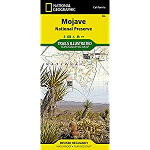 Mojave Federal Preserve (National Geographic Trails Illustrated Map)