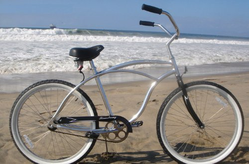 Where Can You buy Firmstrong Urban Man Alloy Single Speed Beach Cruiser Bicycle, 26-Inch, Silver