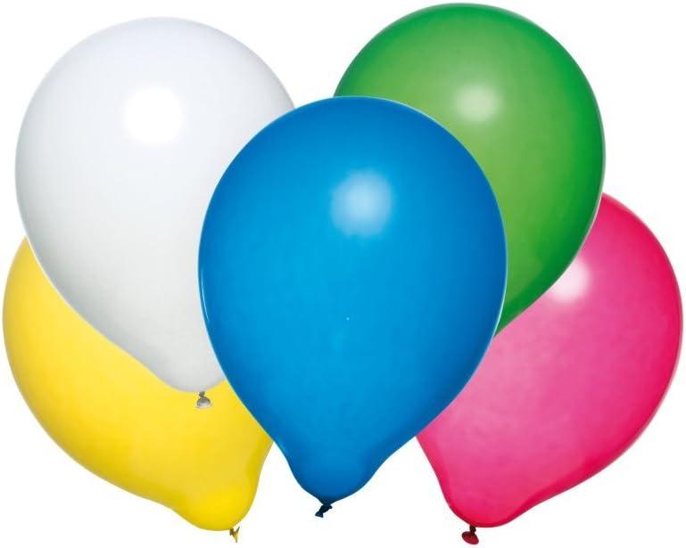 Mittel gegen Blähungen | Susy Card 40011585 - Luftballons, 50 Stück, Latex, farbig Sortiert