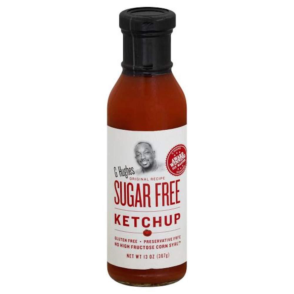 Amazon Com G Hughes Sugar Free Ketchup 13 Ounce Bottle Gluten