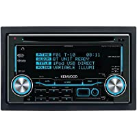 Kenwood DPX530BT Double-DIN In-Dash CD /MP3 /USB Bluetooth AM/FM Receiver