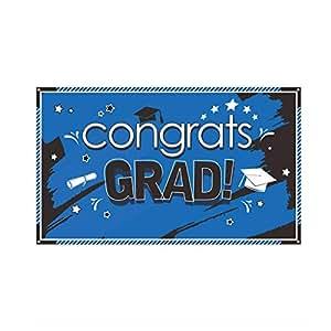 Amazon.com: Sayhi - Pancarta de fiesta de graduación, 78.0 x ...