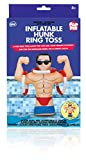 NPW Pop Fix Inflatable Hunk Ring Toss Pool Game