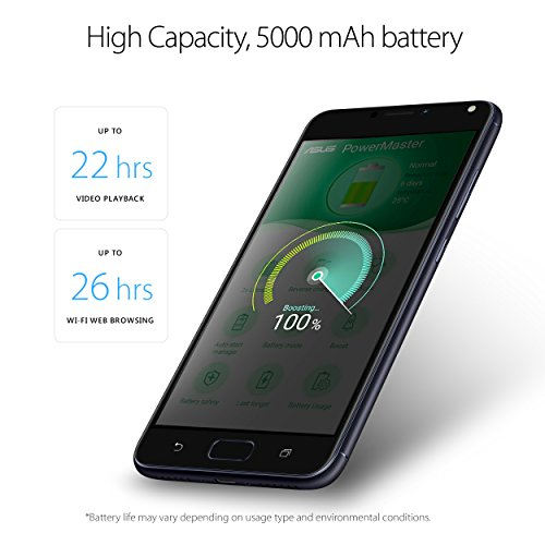 ASUS ZenFone 4 Max 5.5-inch HD 3GB RAM, 32GB storage LTE Unlocked Dual SIM Cell Phone, US by Asus (Image #1)