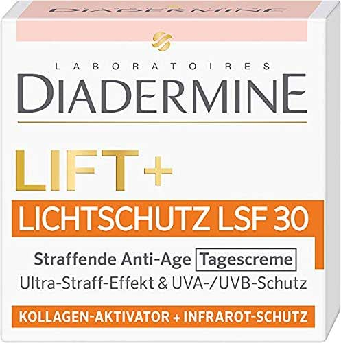 Diadermine Lift + Sunscreen SPF 30 Firming Anti-Age Day Cream - 1.76 Fl.oz (50 ml)