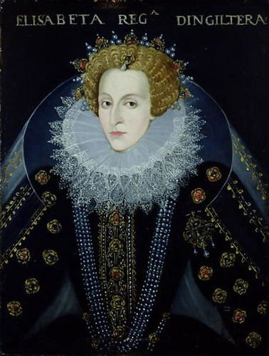 John, the Elder Bettes Portrait of Queen Elizabeth I 40x53 [Kitchen]
