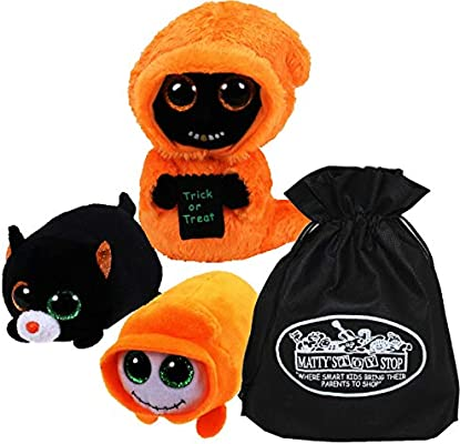 """GRINNER the 6/"""" Orange Halloween Ghoul ~ 2018 NEW ~ IN STOCK Ty Beanie Boos"""