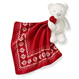 Best Carter's Baby Rattles - Carter's Holiday Bear Security Blanket Review