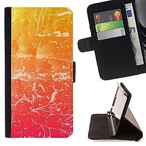For Samsung Galaxy E5 E500 Case , haos Uzor svet cvet Shtrih ()- la tarjeta de Crédito Slots PU Funda de cuero Monedero caso cubierta de piel