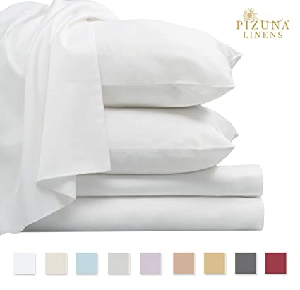 Bed Linens & Sets Home, Furniture & Diy 5* 400 Thread Count 100% Egyptian Cotton Fitted Sheet Flat Sheet All Uk Sizes Bright Luster