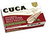Made with one of the Best Tunas from The Atlantic and Cantabria Ocean . Selected and packed by hand following the tradition from 1887. It is not fillet cut as ventresca , is real ventresca , and is made with White Tuna, Albacore Tunnus Allalu...