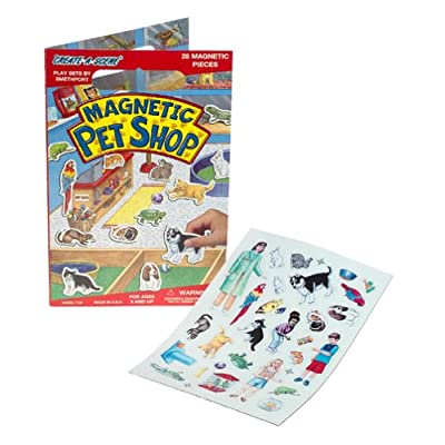 Create-A-Scene Magnetic Playset - Pet Shop: Toys & Games