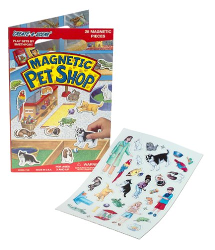 Create-A-Scene Magnetic Playset - Pet Shop ()