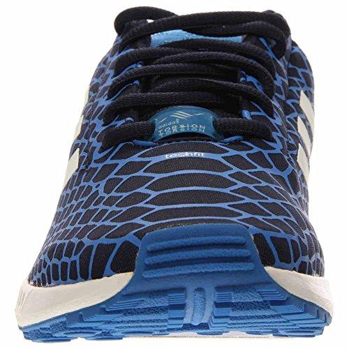 [b24932-] Adidas Zx Flux Techfit Mens Sneakers Adidasblurir Conavy Ftwwht Bleazum