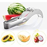 C&P Watermelon Slicer - The Official Premium Stainless steel watermelon and fruit cutter, corer and serving tong, as seen on TV - The new must have kitchen Gadget