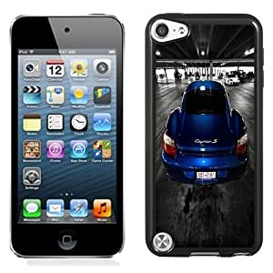 New Personalized Custom Designed For iPod Touch 5th Phone Case For Blue Porsche Cayman S Phone Case Cover