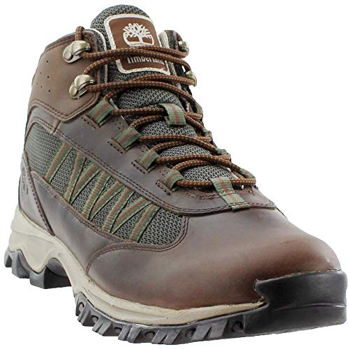 Timberland Mens Mt. Maddsen Lite Mid Outdoor Boots, Dark Brown, 11 M US