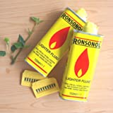 RONSON ロンソンオイル2本(133ml×2)&発火石2枚