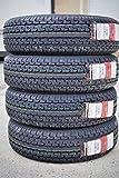 Set of 4 (FOUR) Radar Angler RST22 Steel Belted Radial Trailer Tires - ST225/75R15 117/112L E (10 Ply)