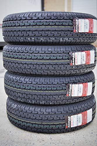 r Angler RST22 Steel Belted Radial Trailer Tires - ST225/75R15 117/112L E (10 Ply) ()