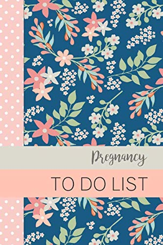 Pregnancy To Do List: Baby To Do List, Before Baby Arrives, Baby Shower Do Do List, Expecting Baby To Do List, First Time Moms, Daily Planner; Pink, Green and Blue Flowers]()
