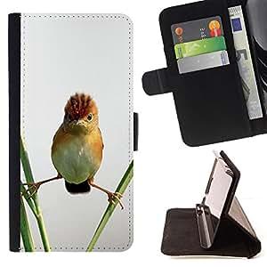 "For Motorola Moto E ( 1st Generation ),S-type Angry Bird Naturaleza Permanente de paja"" - Dibujo PU billetera de cuero Funda Case Caso de la piel de la bolsa protectora"