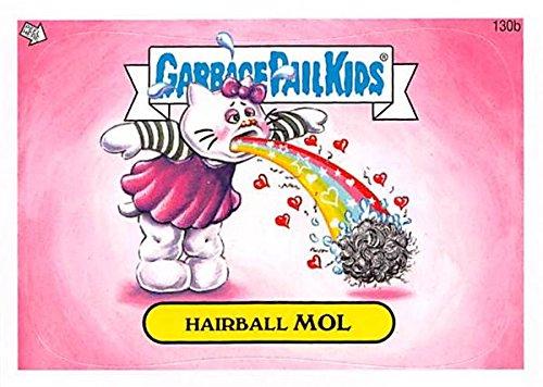 Hairball Mol Garbage Pail Kids trading card sticker Topps 2013 #130b Hello Kitty ()