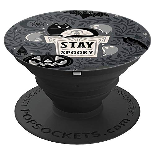 Stay spooky halloween - PopSockets Grip and Stand for Phones and Tablets]()