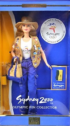 Sydney 2000 Olympic pin collector Barbie (Olympic Pins Sydney)
