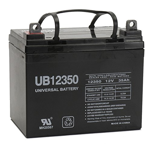 12V 35Ah For Cub Cadet 1517 1650 445 583 982 1027 Lawn Garden Tractors by Universal Power Group