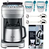 Breville The Grind Control Coffee Grinder (Stainless) + 2 Free Knox Mugs + 2 Demi Spoons + Descaling Powder