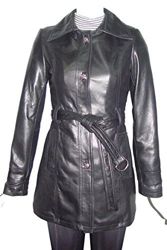 Nettailor 5022 Fine Fitted Clean Best Leather Coats Belt Women by NETTAILOR (Image #7)