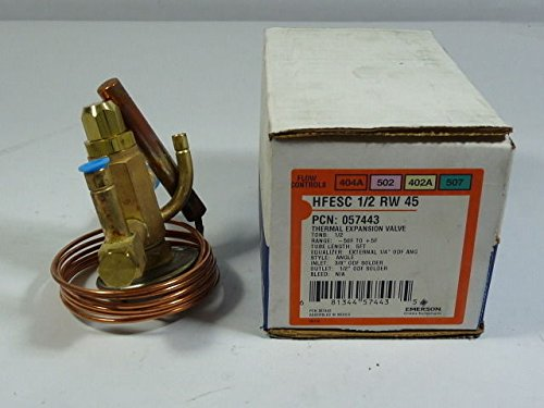 (Emerson HFESC-1/2 RW 45 Thermal Expansion Valve)