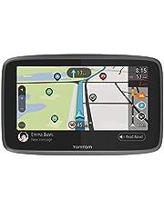 TomTom GO Camper Navigationsgerät (15,2 cm (6 Zoll) Updates über Wi-Fi, Sonderziele Speziell für Wohnmobile und Wohnwagen, Lebenslang Karten-Updates (Welt), TomTom Road Trips)