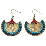 Papyrus Earrings - Collectible Jewelry Accessory Dangle Studs Jewel