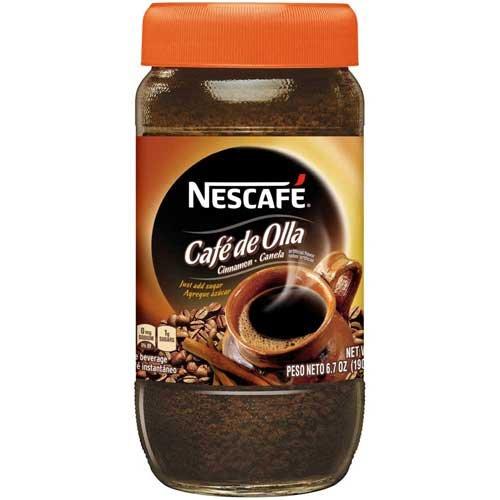 Nescafe Instant Cafe De Olla Coffee, 6.7 Ounce - 6 per case.
