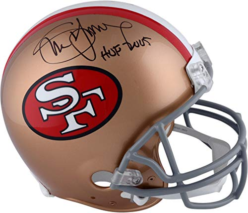 Steve Young San Francisco 49ers Autographed Riddell Authentic Pro-Line Helmet with
