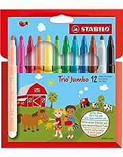 Stabilo Trio Jumbo Dikke viltstift